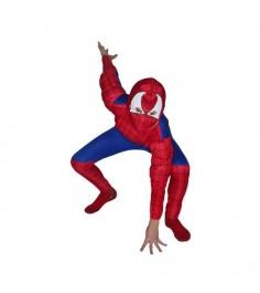 Карнавальный костюм человек паук с мускулатурой 125 140 см Snowmen Е70840-2