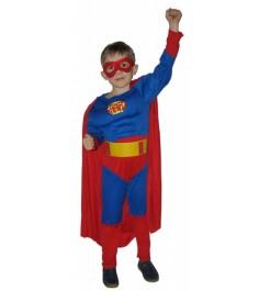 Костюм супермен с мускулатурой 7 10 лет Snowmen Е70841-1