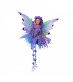Фея с самоцветами фиолетовая 20 см Snowmen Е71003