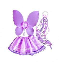 Карнавальный набор бабочка фиолетовый Snowmen Е93178