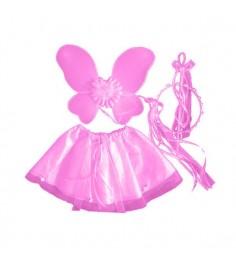 Карнавальный набор бабочки розовый Snowmen Е93179-2