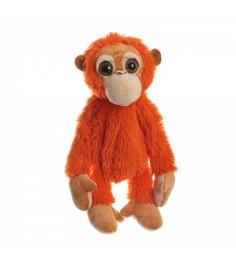 Мягкая сумочка обезьянка оранжевая 43 см Snowmen Е96003