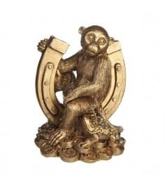 Новогодняя фигурка символ года обезьянка 6.7 см Snowmen Е96036