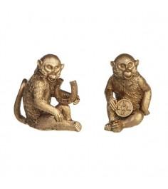 Новогодняя фигурка символ года обезьянка 6.3 см Snowmen Е96042
