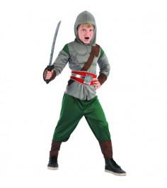 Карнавальный костюм рыцарь с мускулатурой 110 120 см Snowmen Е96491