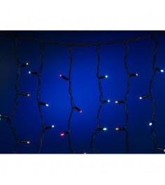 Новогодняя уличная гирлянда бахрома 3.2 х 0.9 м 232 лампы Snowmen ЕК0206