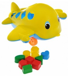 Игрушка Спектр самолет Кит с логическими фигурами У494