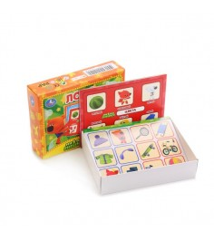Лото бумажное Умка мимимишки 48 карточек