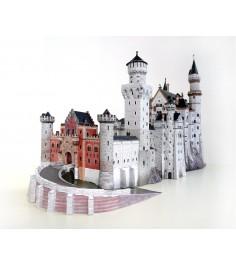 Сборная модель из картона замок нойшванштайн 1:250 359 дет Умная Бумага 157