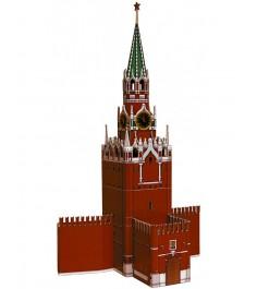Архитектурный 3d пазл спасская башня россия 28 элементов Умная Бумага 219