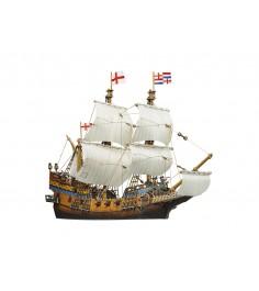 Сборная модель из картона галеон 276 деталей Умная Бумага 415