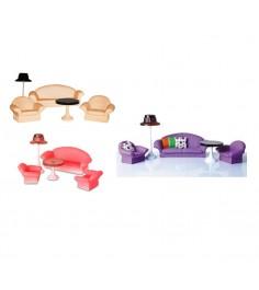 Набор мебели для кукол коллекция гостиная Огонек 1302