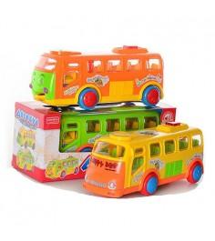 Музыкальный автобус happy bus свет звук Zhorya ZYA-A1017-1