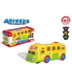 Музыкальный автобус happy bus свет звук Zhorya ZYA-A1017-2