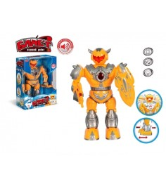 Робот бласт оранжевый свет звук Zhorya ZYA-A1089-2