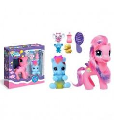 Игровой набор ляля пони с аксессуарами свет Zhorya Д71936