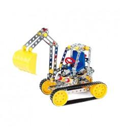 Металлический конструктор собери и играй экскаватор 234 дет Zhorya ZYB-B0261-3