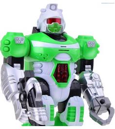 Робот бласт зеленый свет звук Zhorya ZYC-0752-2