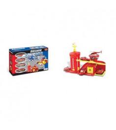 Игровой набор гараж парковка пожарная станция Zhorya Г45821