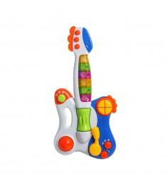 Обучающая гитара умный я свет звук Zhorya ZYE-E0122