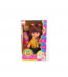 Интерактивная кукла але леля с телефоном и щеткой 28 см Zhorya ZYI-00001-5
