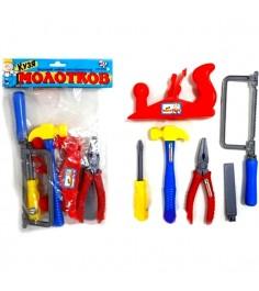 Игровой набор инструментов кузя молотков 6 предметов Zhorya ZYK-021B-2