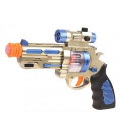 Космический пистолет звездный арсенал свет звук вибрация Zhorya ZYK-022B-3