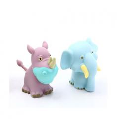 Набор пищалок носорог и слон Zhorya ZYK-066A-3